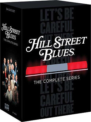 Hill Street Blues - The Complete Series DVD 34-Disc Set (2014) New Seasons 1-7