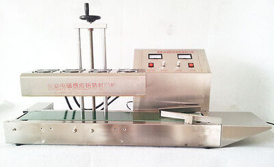 LT-1800 Continuous Induction Sealer Machine 220V Bottle diameter  20-100mm SALE!