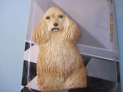 "Cocker Spaniel Dog Polynate unbreakable 2"" x 4"" Magnet Dog NEW FREE SHIPPING"