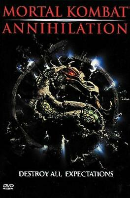 Mortal Kombat - Annihilation New Region 1 Dvd