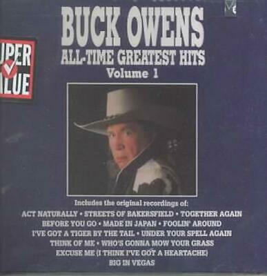 Buck Owens - All-Time Greatest Hits, Vol. 1 New Cd