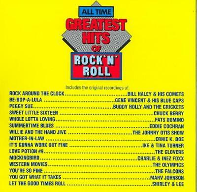 Various Artists - All-Time Greatest Hits Of Rock & Roll, Vol. 1 New Cd