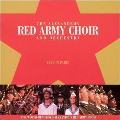 Alexandrov Red Army Choir & Orchestra/Red Army Chorus - Live In Paris New Cd
