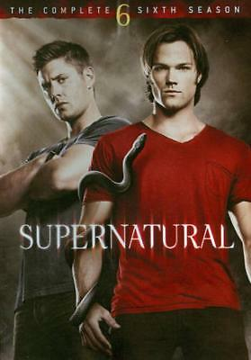 Supernatural: The Complete Sixth Season New Region 1 Dvd