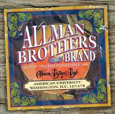 The Allman Brothers Band - American University 12/13/70 New Cd