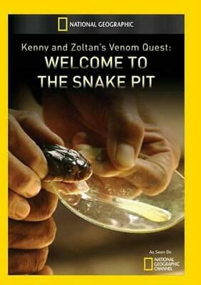 Kenny And Zoltan's Venom Quest: Welcome To The Snake Pit New Region 1 Dvd