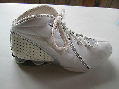 VTG 2005 Nike Shox Zoom Air Basketball Athletic Shoes Womens 311233-101 Size 8.5