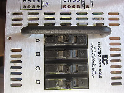 Electro Controls 03-0420-31 80A 125V QD Dimmer, Used