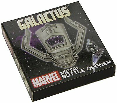 DST Toys Marvel Comics GALACTUS Metal Bottle Opener