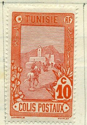 TUNISIA;  1906 Parcel Post issue fine Mint hinged 10c. value
