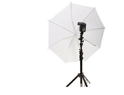 "33"" inch Translucent Photography Light Photo Video White Soft Studio Umbrella IL"