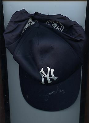 New York Yankees Jimmy Key Autographed Hat / Cap