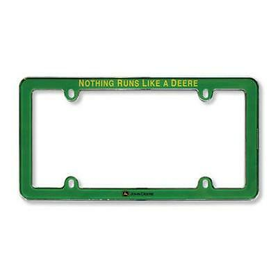 John Deere Licensed Plate Frame (Green) - LP49604