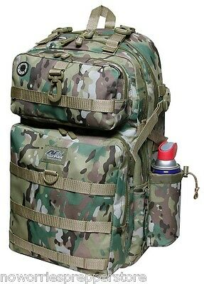 LARGE MULTICAM BACKPACK Tactical Pack Afghanistan Iraq Bug Out Bag EDC  MILITARY 845fda96ad1e3