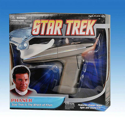 The Wrath of Khan PHASER Replica ! ELECTRONIC ! NEW !!!