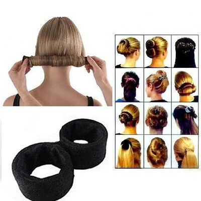 Newly Hair Updo Wrap Fold Snap French STYLE Bun Maker Hair Magic Styling Tool