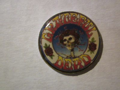 "Grateful Dead ""Skull Head""Novelty Tour Collection Tack Pin New!"