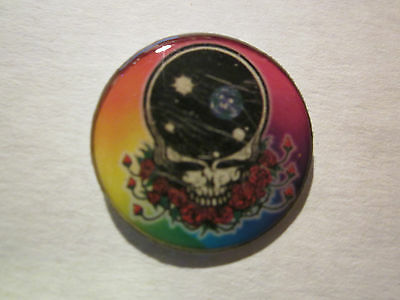 "Grateful Dead ""Black empty Skull Head""Novelty Tour Collection Tack Pin New!"