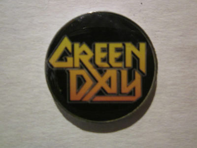 Green Day  Tour Collection Novelty Tack Pin New!