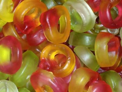 * Haribo Friendship Rings Wholesale Pick N Mix RETRO SWEETS & CANDY Party Bags