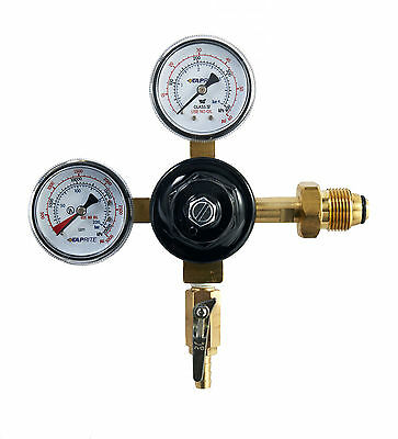 Taprite 742HPN Dual Gauge Primary Nitrogen Regulator Kegerator Homebrew Beer Mix