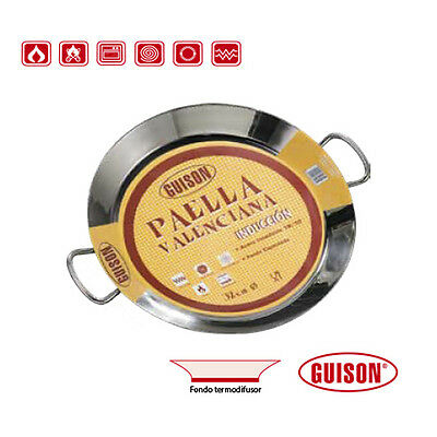 Garcima 16 inches/40cm PAELLA VALENCIANA Stainless Steel Pan