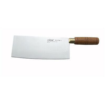 Winco KC-101, Chinese Cleaver with Wooden Handle and 3.5–Inch Wide Blade
