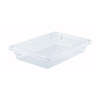 Winco PFSH-3, 12x18x3.5-Inch PC Food Storage Box