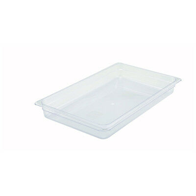 Winco SP7102, 2.5-Inch Deep Full-Size Polycarbonate Food Pan, NSF