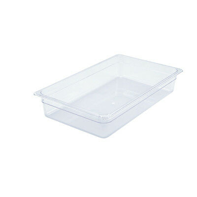 Winco SP7104, 4-Inch Deep Full-Size Polycarbonate Food Pan, NSF