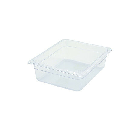 Winco SP7204, 4-Inch Deep Half-Size Polycarbonate Food Pan, NSF