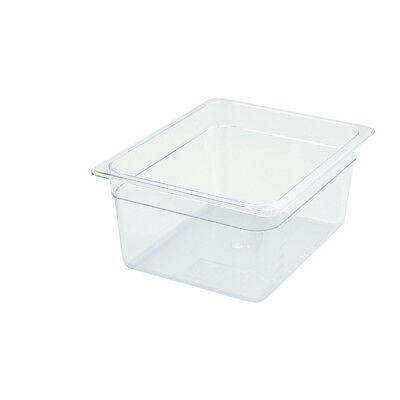 Winco SP7206, 6-Inch Deep Half-Size Polycarbonate Food Pan, NSF