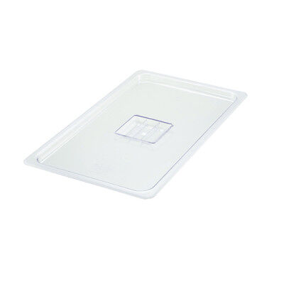 Winco SP7100S, Full-Size Polycarbonate Food Pan Solid Cover, NSF