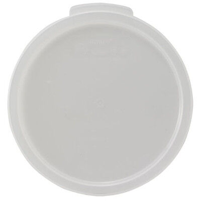 Winco PPRC-68C, Round Cover Fits 6 and 8-Quart Containers, NSF