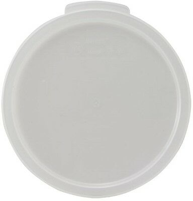 Winco PPRC-1222C, Round Cover Fits 12-, 18-, 22-Quart Containers, NSF