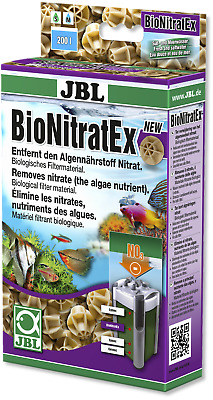 JBL Bionitratex 240g removes nitrate biological media aquarium fish tank filter