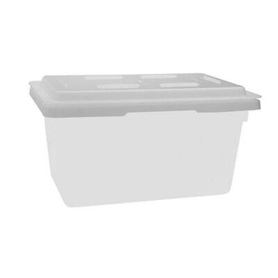 Winco PFHW-C, Polypropylene Cover for PFHW-series 18x12-Inch Storage Box