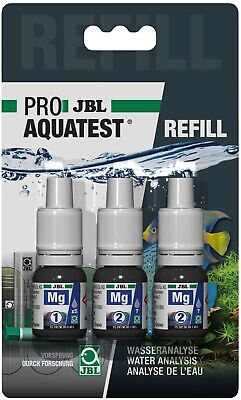 JBL Test Kit MG Magnesium Refill (aquarium coral tank marine salt reef water)