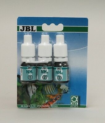 JBL Test Kit NH4 Ammonium Ammonia Refill (aquarium fish tank marine fresh water)