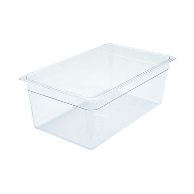 Winco SP7108, 8-Inch Deep Polycarbonate Full-Size Food Pan, NSF