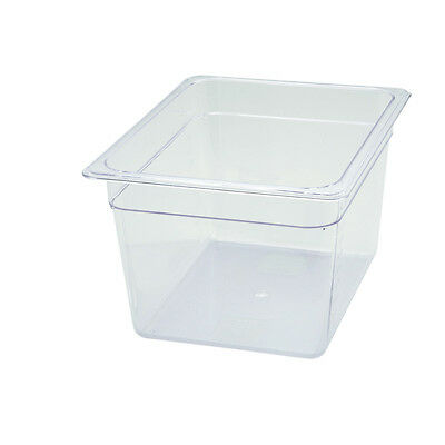 Winco SP7208, 8-Inch Deep Polycarbonate Half-Size Food Pan, NSF