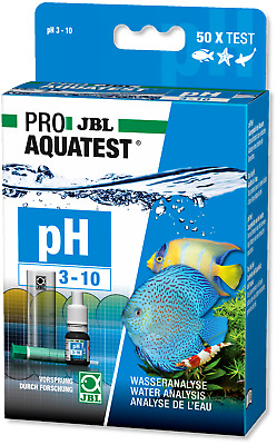 JBL Test Kit pH 3-10 (aquarium fish tank marine tropical community fresh water)