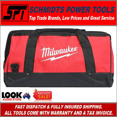 "MILWAUKEE M12 M18 600mm LARGE SIZE TOOL BAG 23"" COMBO KIT WIDE MOUTH TOOLBAG"