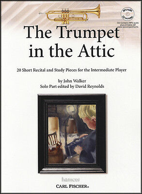 The Trumpet in the Attic Sheet Music Book & Play-Along MP3-CD