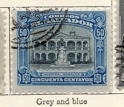 El Salvador 1912 Early Issue Fine Used 50c. 143394