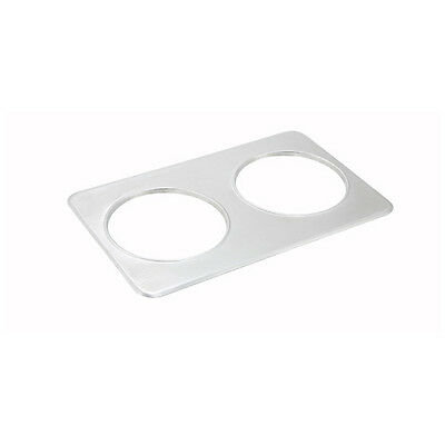 Winco ADP-808, Adapter Plate, Two 8.4 Inset Holes