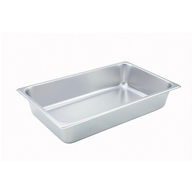 Winco SPF4, 4-Inch Deep Full Size Steam Table Pan, NSF