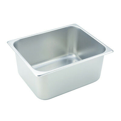 Winco SPH6, 6-Inch Deep Half Size Steam Table Pan, NSF