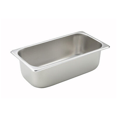 Winco SPT4, 4-Inch Deep, One-Third Size Table Pan, NSF