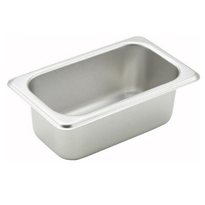 Winco SPN2, 2.5-Inch Deep One-Ninth Size Steam Table Pan, NSF